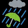 大雨・体験